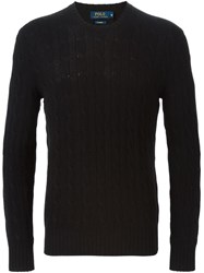 Polo Ralph Lauren Crew Neck Sweater Black