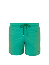 Vilebrequin Moorea Changing Dots Swim Shorts Green