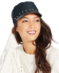 August Hats Military Cap With Studs