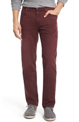 Men's Fidelity Denim 'Jimmy' Slim Straight Leg Jeans Belmont Bordeaux