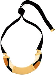 Marni Resin Necklace Black