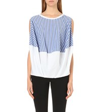 Anglomania Pack Striped Panel Top Optical White