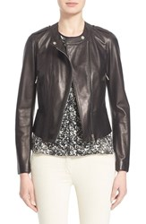 Women's Belstaff 'Whyte' Nappa Leather Moto Jacket Belstaff