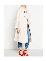 Paul Smith Black Oversized Textured Coat Cream