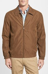 Men's Rainforest 'Microseta' Lightweight Golf Jacket Almond
