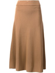 A.L.C. 'Cook' Skirt Nude And Neutrals