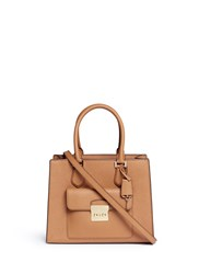 Michael Kors 'Bridgette' Medium Saffiano Leather Tote Brown