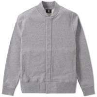 Paul Smith Jersey Bomber Jacket Grey