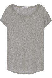 James Perse Cotton Jersey T Shirt Gray