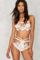 Skivvies By For Love And Lemons Ruby High Waisted Panty