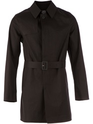 L'eclaireur Made By Belted Trench Coat Black