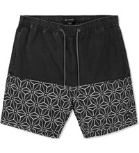 Black Grey Hola Shorts