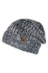 Men's Bickley Mitchell Knit Beanie Blue Navy Twist
