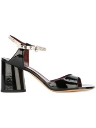 Marc Jacobs 'Amelia' Sandals Black