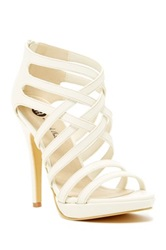 Michael Antonio Thorstein High Heel Sandal Strappy High Heel Sandal White