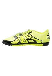 Adidas Performance X 15.3 Tf Astro Turf Trainers Solar Yellow Core Black Frozen Yellow Neon Yellow
