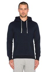 Reigning Champ Core Pullover Hoodie Navy