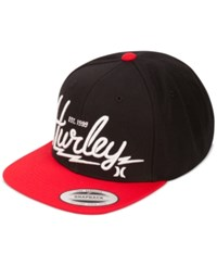 Hurley Men's Bolts Hat Gym Red