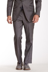 Ben Sherman Gray Sharkskin Wool Suit Separates Pant