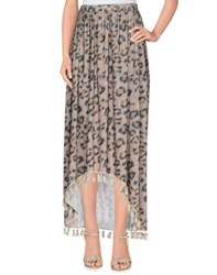 Cloli' Skirts Long Skirts Women Khaki