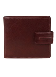 Dents Waxed Leather Wallet Mocha