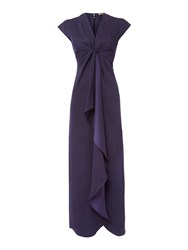 Biba Waterfall Maxi Dress Navy
