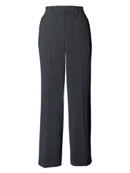 Chesca Zip Pocket Trouser Charcoal