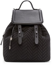 Mackage Black Quilted Tanner Backpack