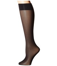 Wolford Milou Knee Highs Black Knee High Hose