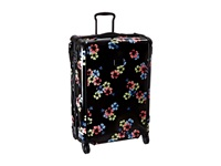 Tumi Tegra Lite Large Trip Packing Case Black Floral Pullman Luggage Multi