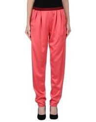 Thakoon Addition Casual Pants Coral