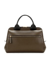 Marni Madeline Leather Cross Body Bag Brown