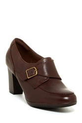 Clarks Brynn Poppy High Heel Loafer Wide Width Available Brown