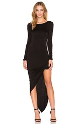 De Lacy Sam Wrap Dress Black