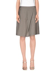 Alviero Martini 1A Classe Skirts Knee Length Skirts Women Lead