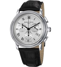 Frederique Constant Fc 292Mc4p6 Classics Chronograph Stainless Steel Watch