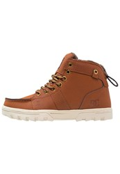 Dc Shoes Woodland Winter Boots Brown Dark Brown