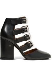 Laurence Dacade Maja Buckled Leather Pumps Black