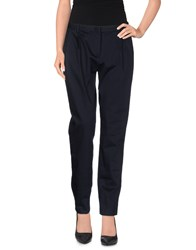 Tonello Trousers Casual Trousers Women Dark Blue