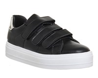 Office Player Velcro Strap Trainers Black Multi