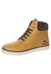 Wrangler Willie Laceup Boots Camel Beige