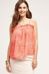 Anthropologie Emasalo Tank Red