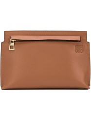 Loewe Mini Clutch Brown