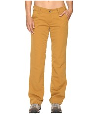 Marmot Piper Flannel Lined Pants Camel Women's Casual Pants Tan