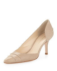 Etienne Aigner Lina Pointed Toe D'orsay Pump Natural