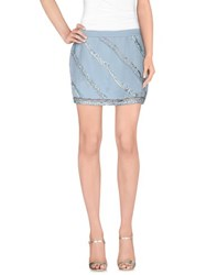 Gaudi' Skirts Mini Skirts Women Azure