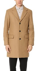 Club Monaco Wool Topcoat Light Camel