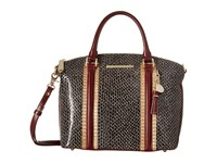 Brahmin Duxbury Satchel Brown Satchel Handbags