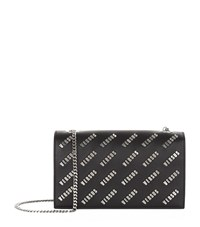 Versus By Versace Versus Versace Logo Chain Shoulder Bag Female Black
