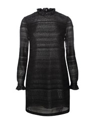 Markus Lupfer Black Cityscape Fil Coupe Carrie Dress